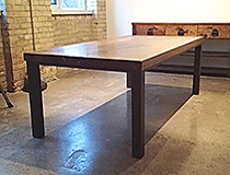 "Custom 3"" thick salvage Dining Table, custom size/designs available, please inquire"