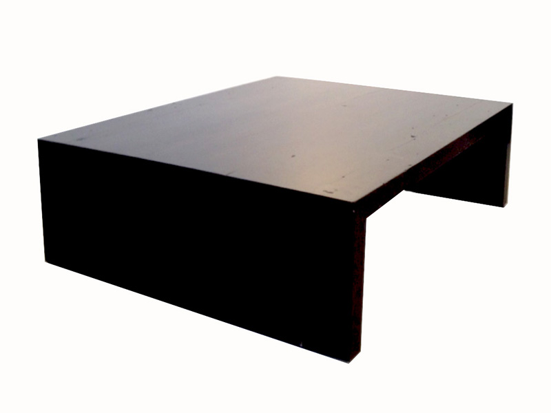 "Salvage wood coffee table, 3"" thick, custom sizing/finishes available"