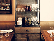 Storage Hutch, reclaimed wood and steel, Designed - Hardware Interiors Studio - Location, Ruby Watch